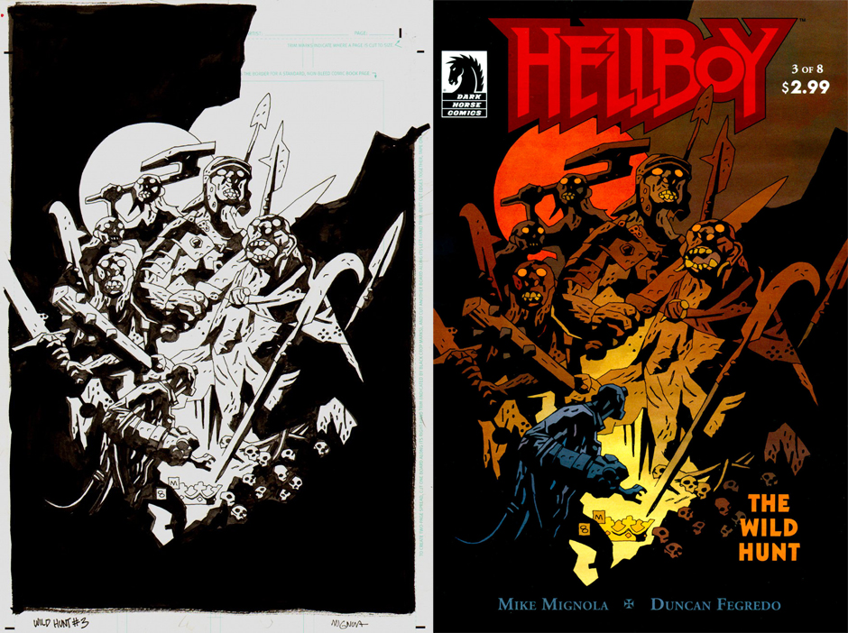 Original de Mike Mignola